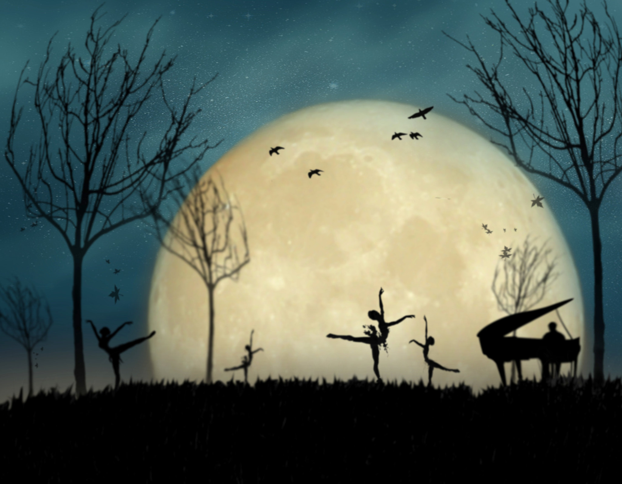 Photograph Moonlight Melody by Moses Benson on 500px