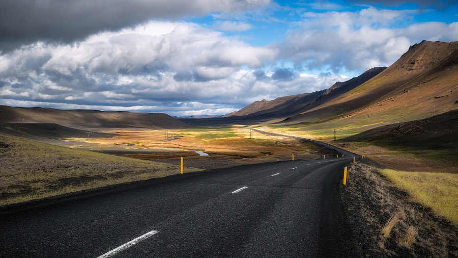 Iceland Roads by Tomaž Klemenšak on 500px.com