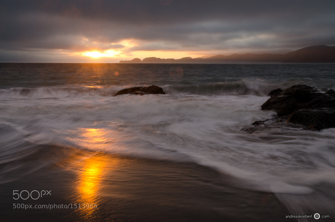 Photograph Baker Beach Sunset by Andreas Koeberl on 500px