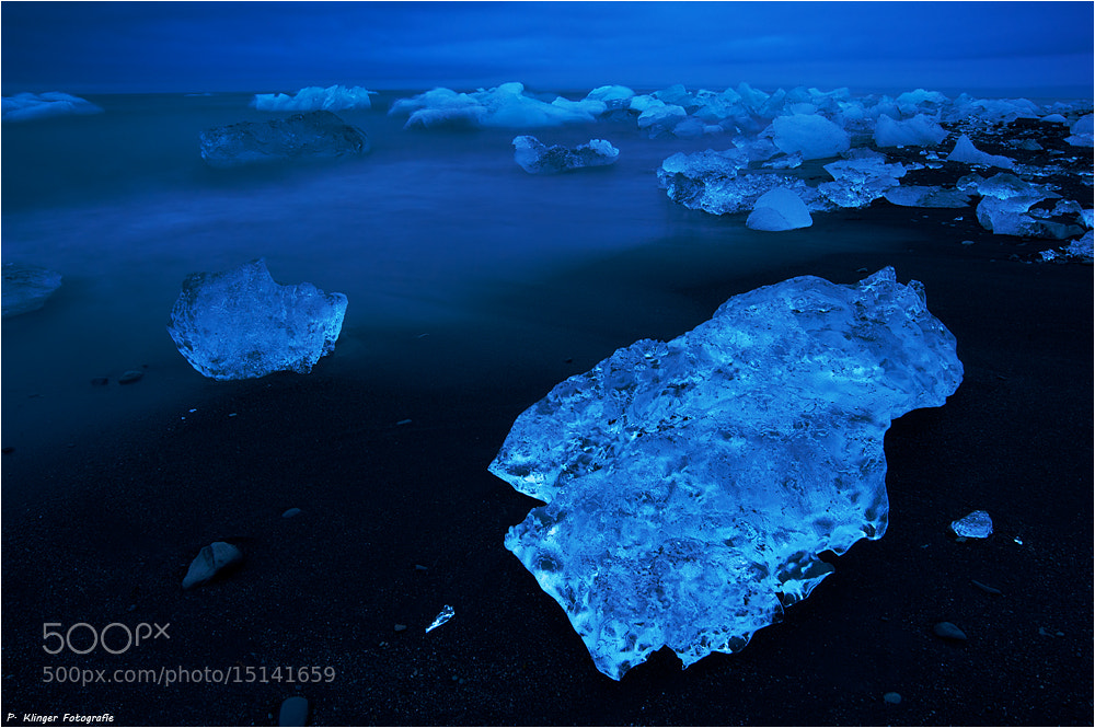 Photograph Blue ice by Philip Klinger on 500px