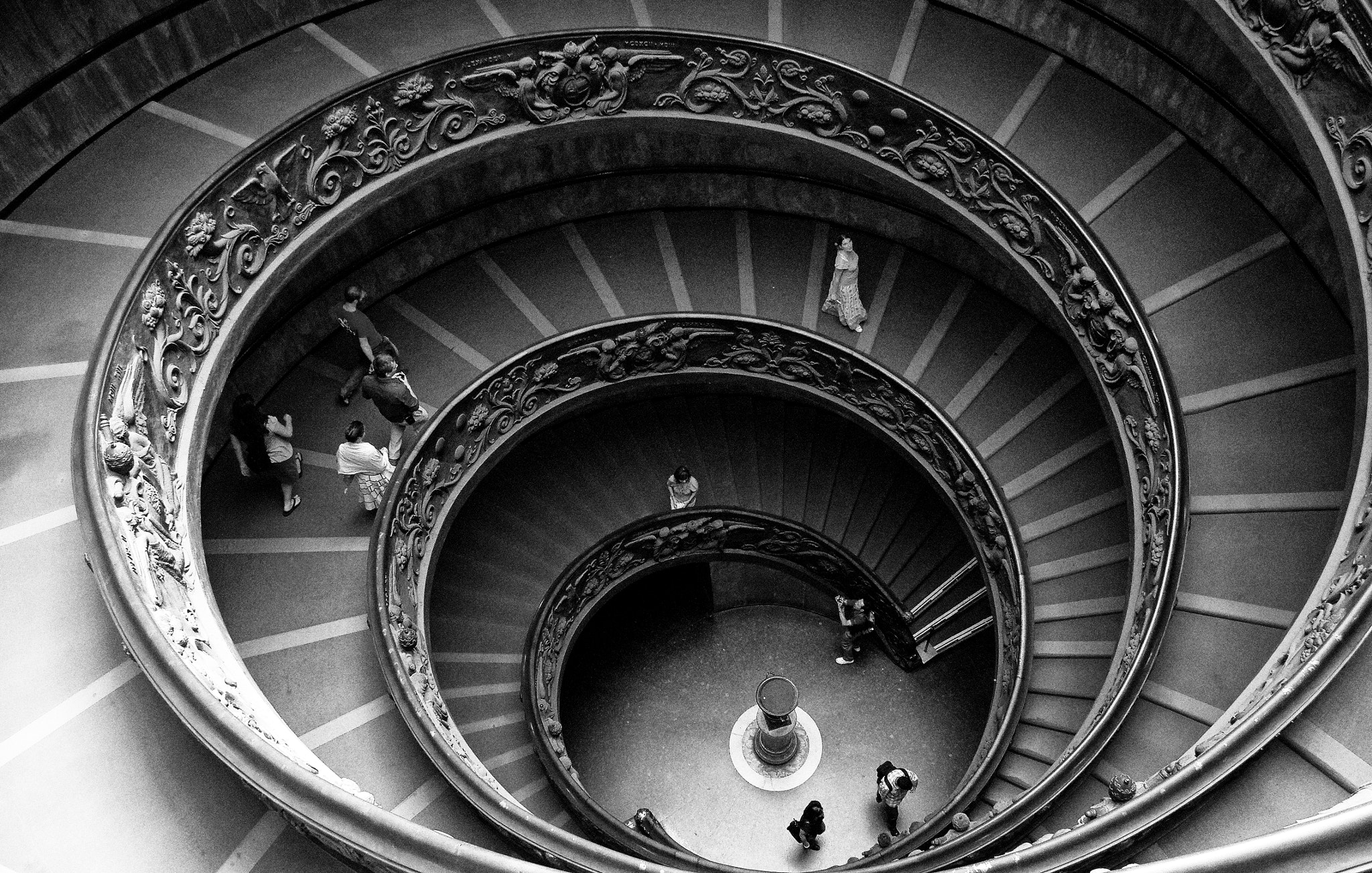 Photograph Spiral stairs, The Vatican  by Dan Havlik on 500px