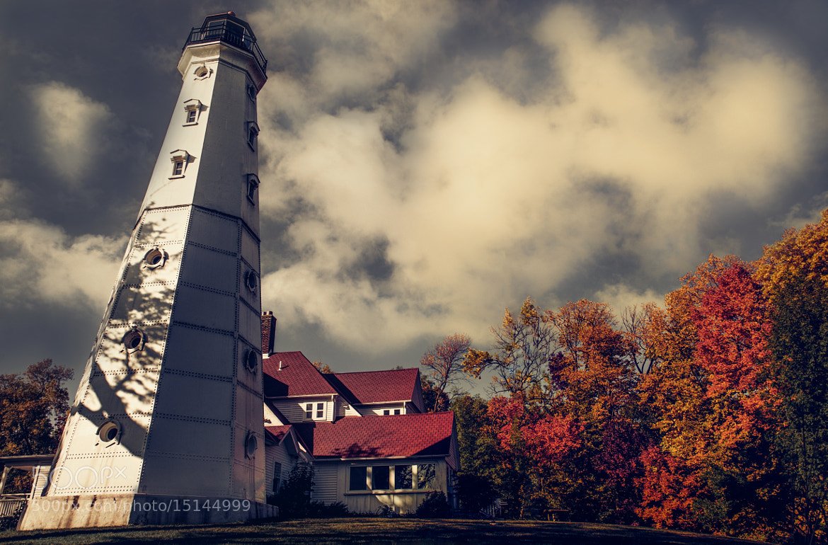 Photograph The Autumn Lighthouse by Vallen Gillett on 500px