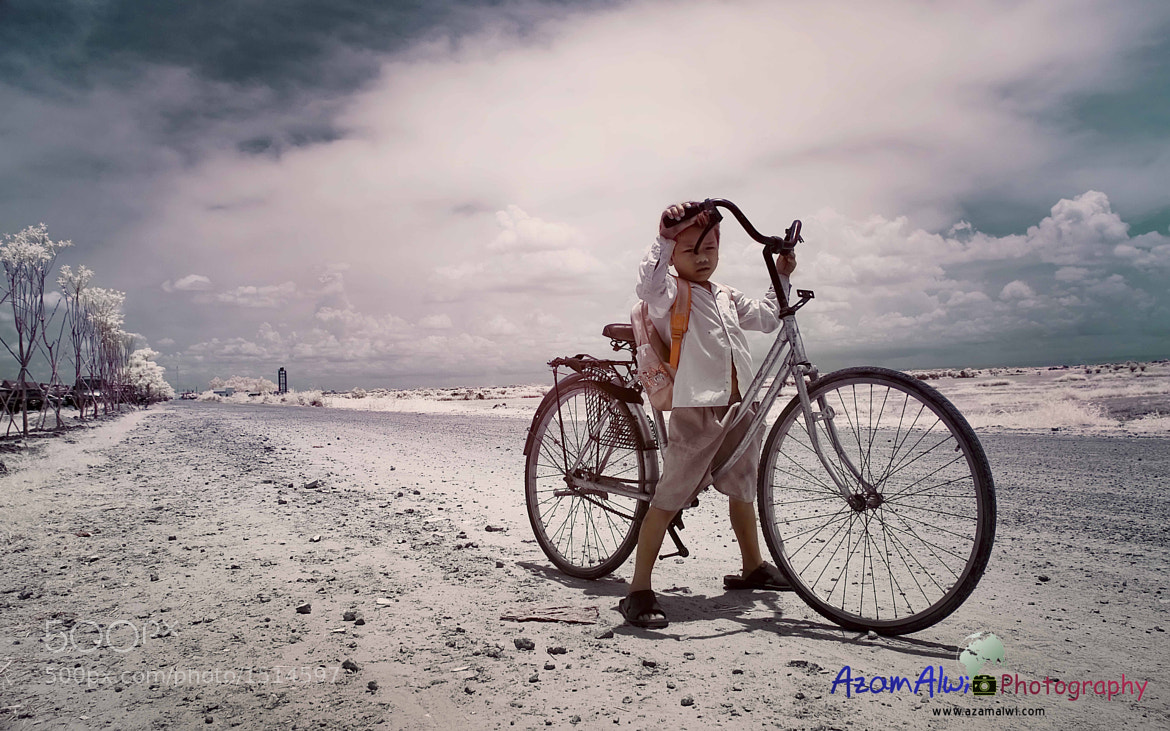 Photograph School Boy | InfraRED by azam alwi on 500px