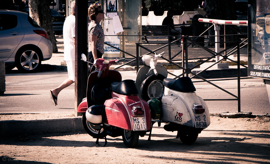 Photograph Vespas in Corsica by Eddy C on 500px