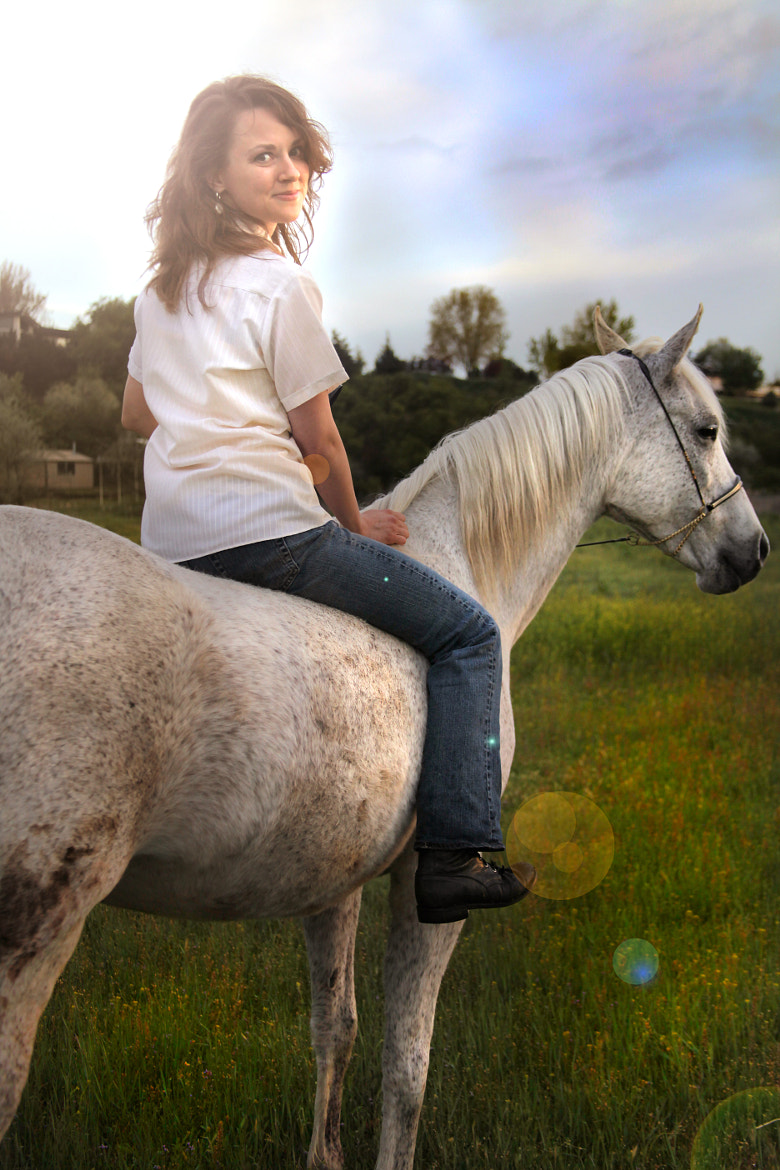 Photograph A Girl and Her Horse by Laura Bellamy on 500px
