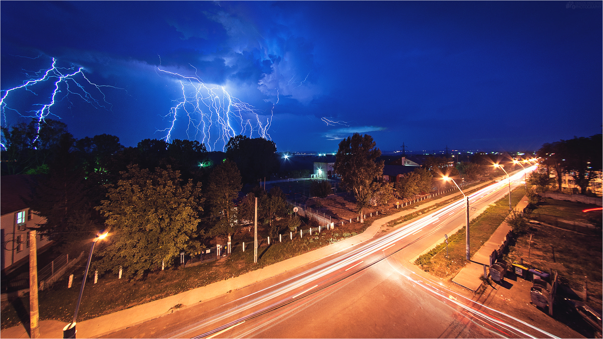 Photograph Lighting storm by Dragos Vrinceanu on 500px