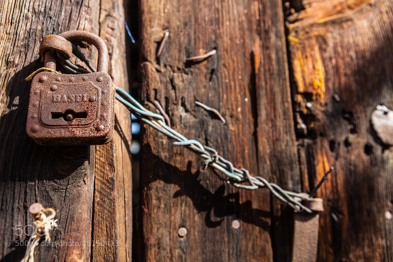 Photograph Lock  by Salih Enes OZBAYOGLU on 500px