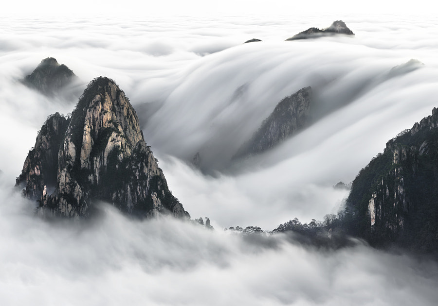 Huangshan Falls by ThierryBornier on 500px.com