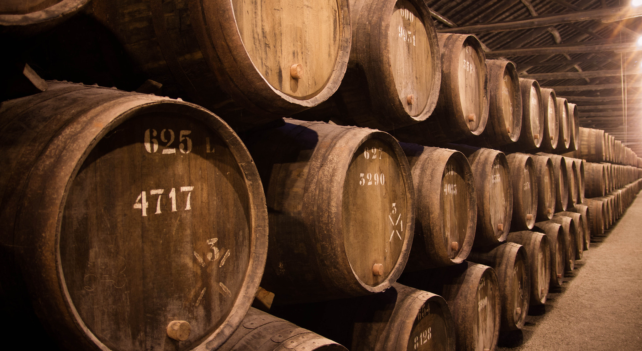 Photograph Taylors Gaia Cellar - Tawny Port Aging by Ryan Opaz on 500px