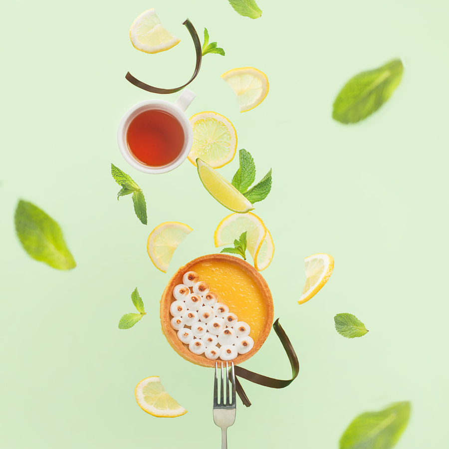 Lemon tart by Dina Belenko on 500px.com
