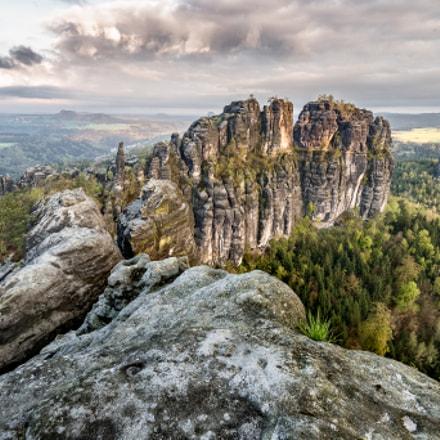 Schrammsteine - Sächsische Schweiz