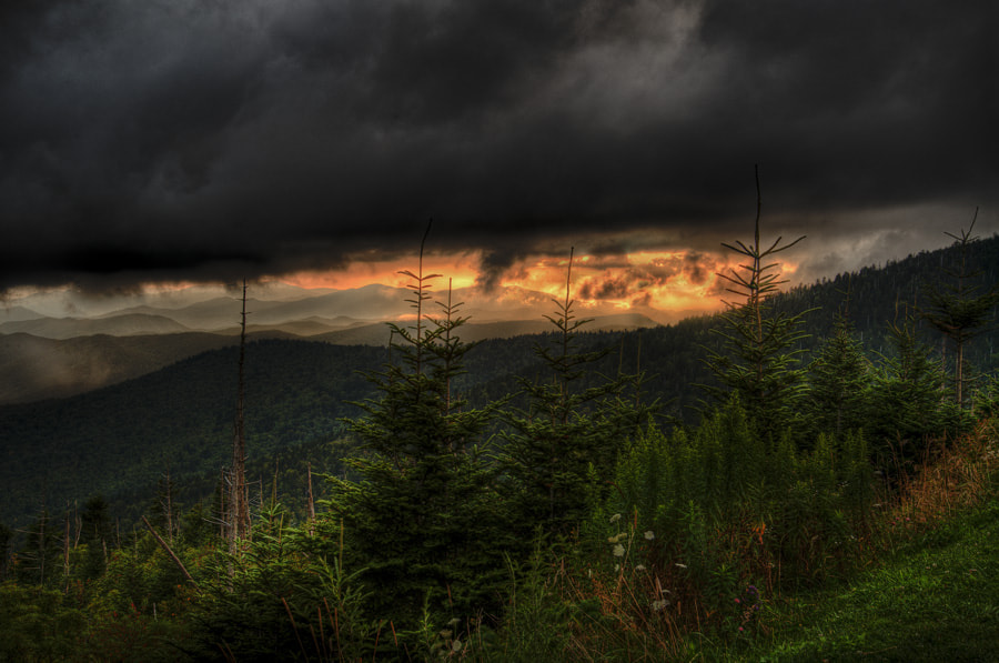 Photograph Stormy Sunset by Wayne Lawson on 500px