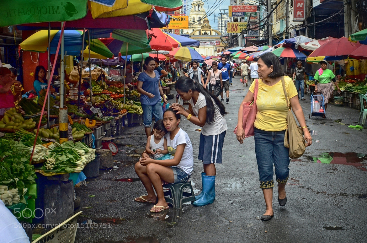 Photograph Quiapo #4, October 2, 2012 by Gil Merino Valdéz on 500px