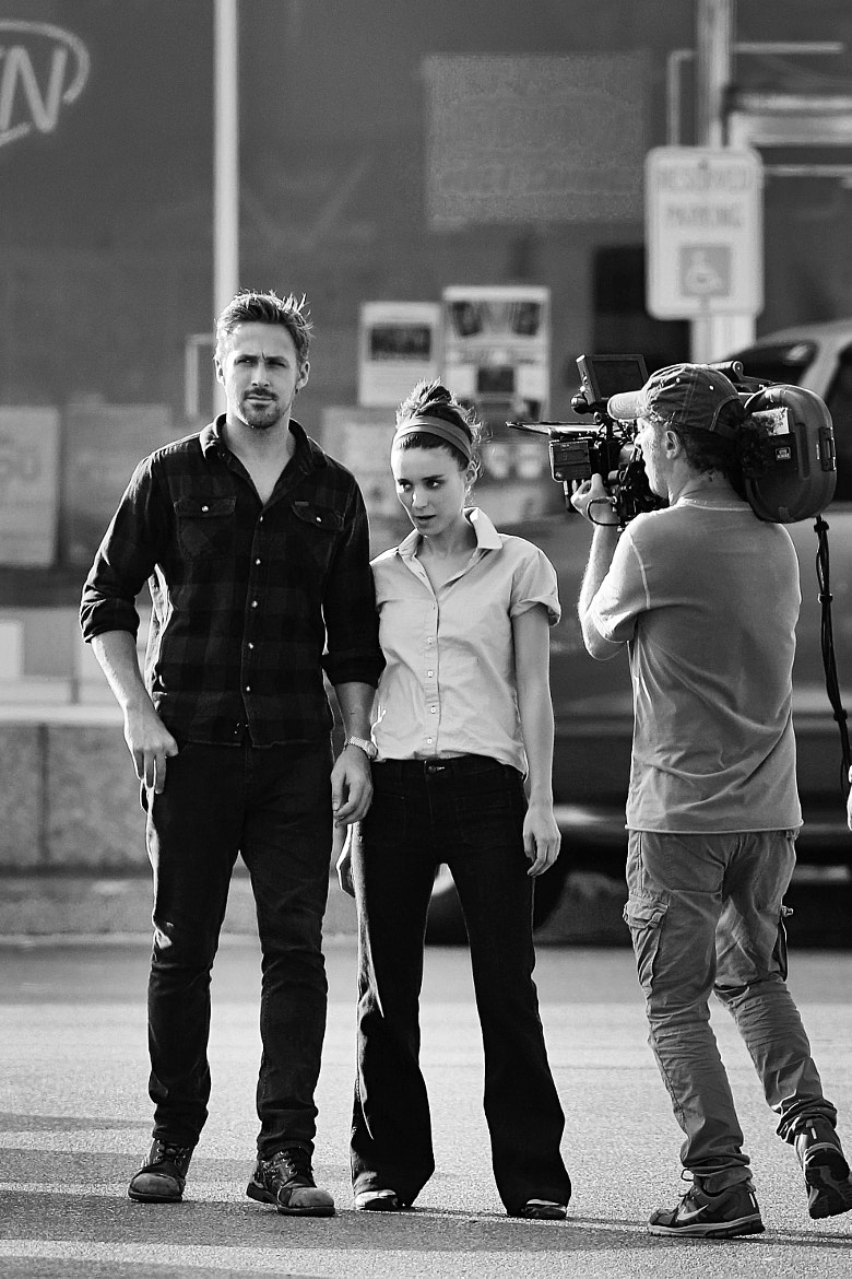 Photograph Ryan Gosling and Rooney Mara by Timothy Jackson on 500px