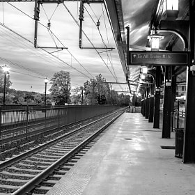 early for the train  by gevon  servo  (gservo)) on 500px.com