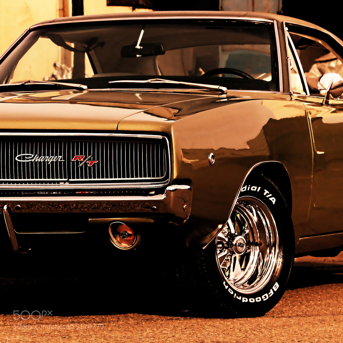 Photograph 1968 Dodge Charger R/T Avatar - Precious Metal by Scott Crawford on 500px