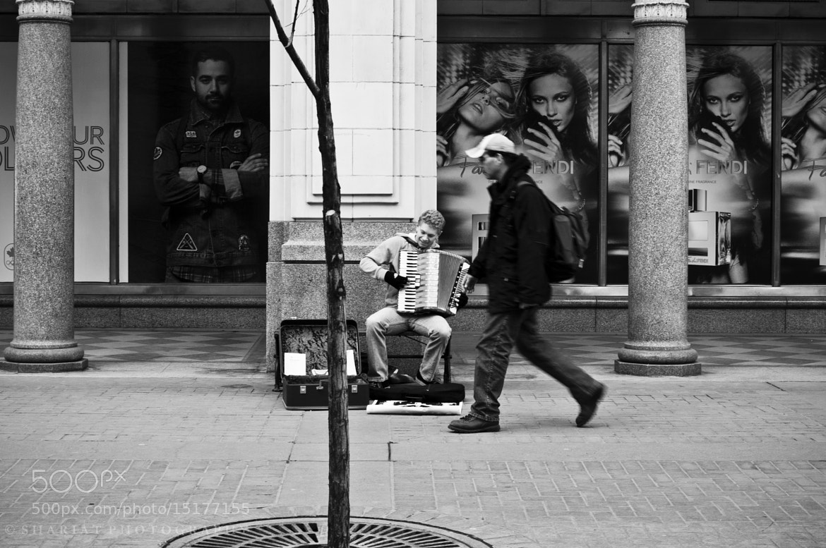Photograph Street Busker by Navid S on 500px