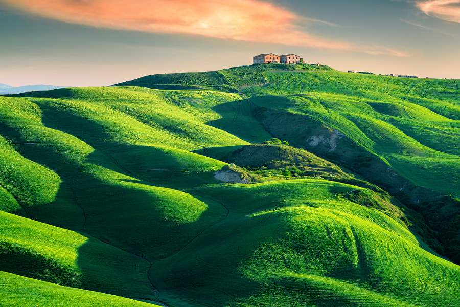 Tuscany in Spring by İlhan Eroglu on 500px.com