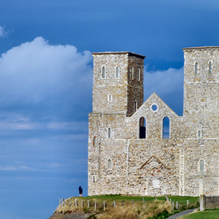 reculver tower, Fujifilm FinePix S2750HD