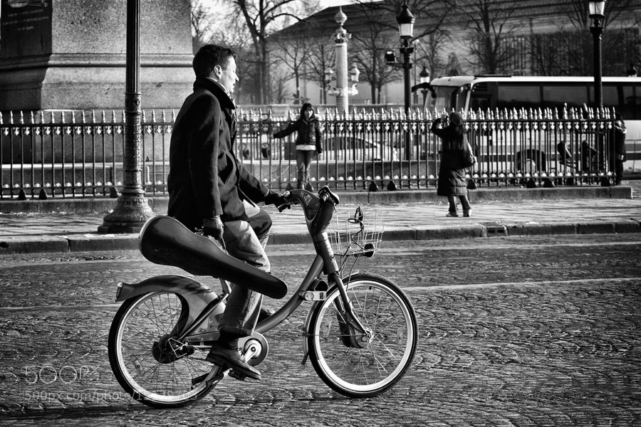 Photograph The hired killer by Regards Parisiens on 500px