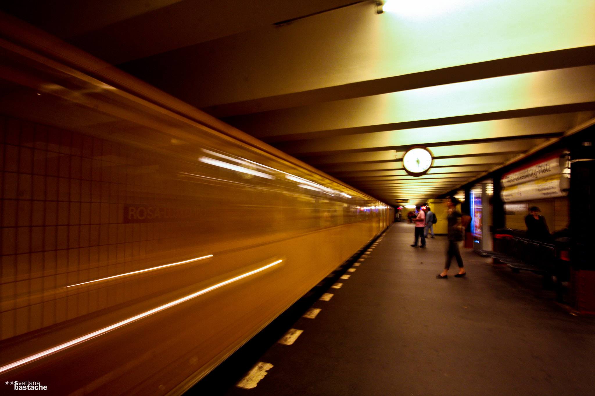 Photograph Rosa Luxemberger Platz U-bahn. by Svetlana Bastache on 500px