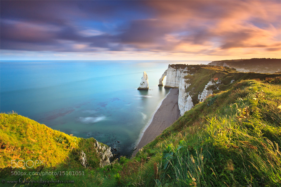 Photograph Sunrise in Etretat by Fabio Nodari on 500px
