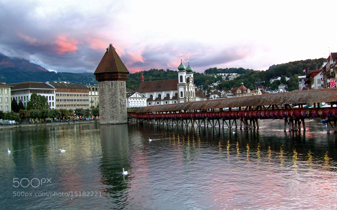 Photograph lucerne in the evening by Mamta Kamath Belani on 500px