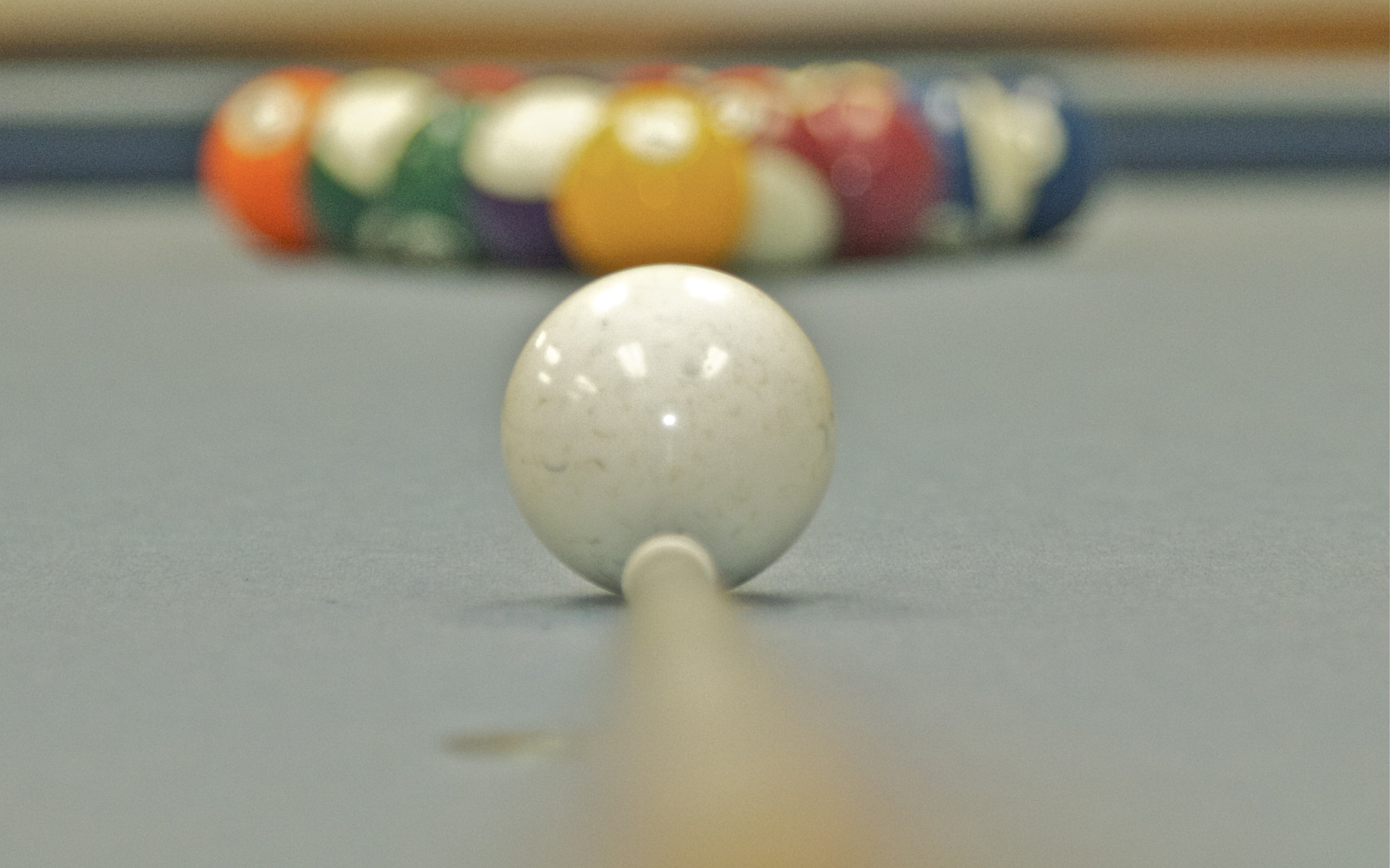 Photograph Cue Ball by Dallas Doyle on 500px