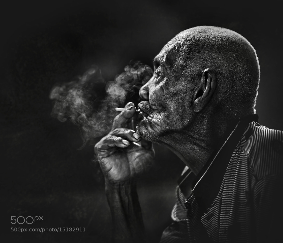 Photograph SMOKER... by abe less on 500px