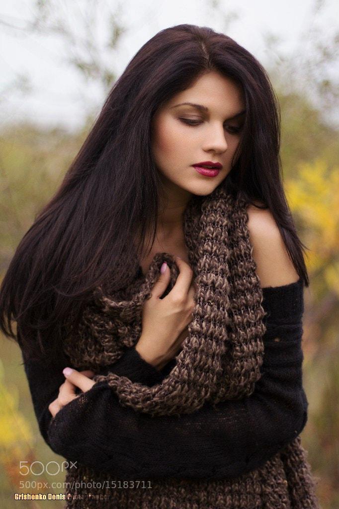 Photograph Autumn girl by Denis Grishchenko on 500px