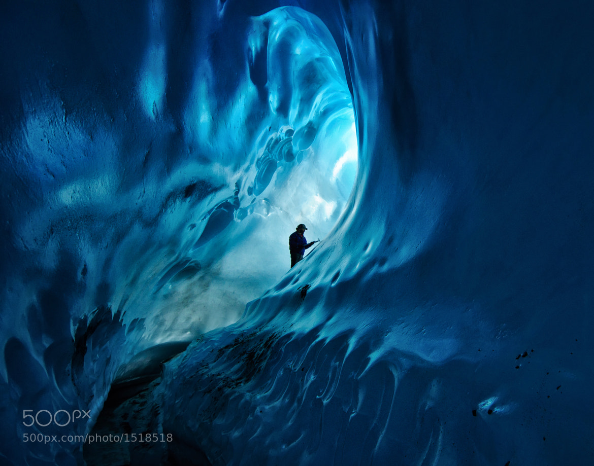 Photograph Ice Cave Adventure by Noppawat Charoensinphon on 500px