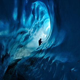 "Ice Cave Adventure by Noppawat ""Tom"" Charoensinphon (Tom_NC)) on 500px.com"