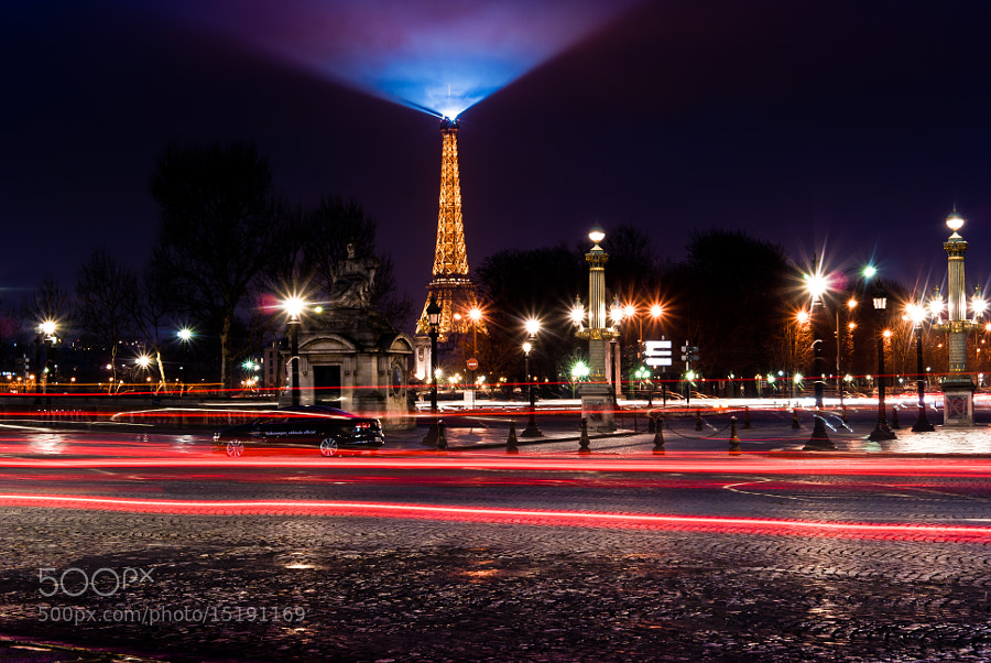 Photograph Vue de la Concorde by Jürgen GOLDHORN on 500px