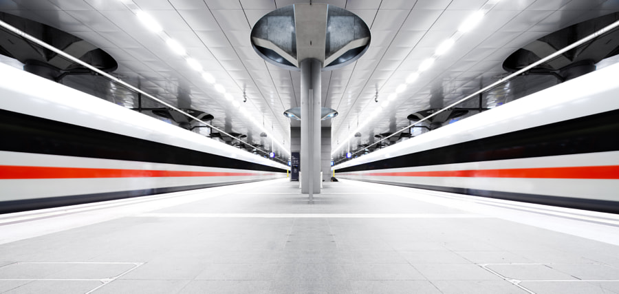 Trains by Christoph Müller on 500px.com