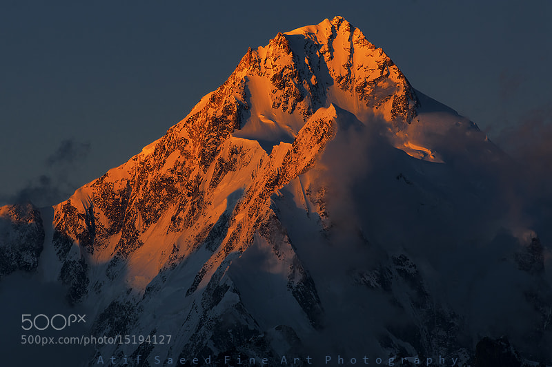 Photograph Mount Trivor 7728m.. by Atif Saeed on 500px