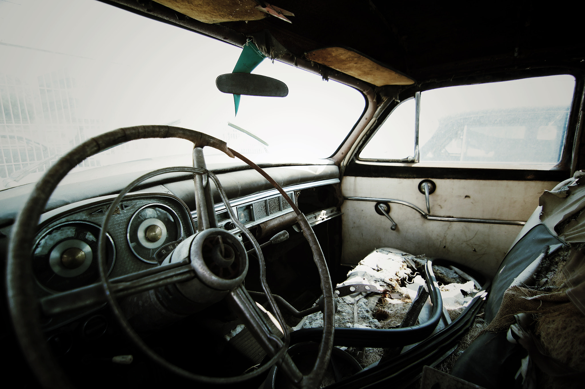 Photograph Old Crysler interior by Martin Cox on 500px