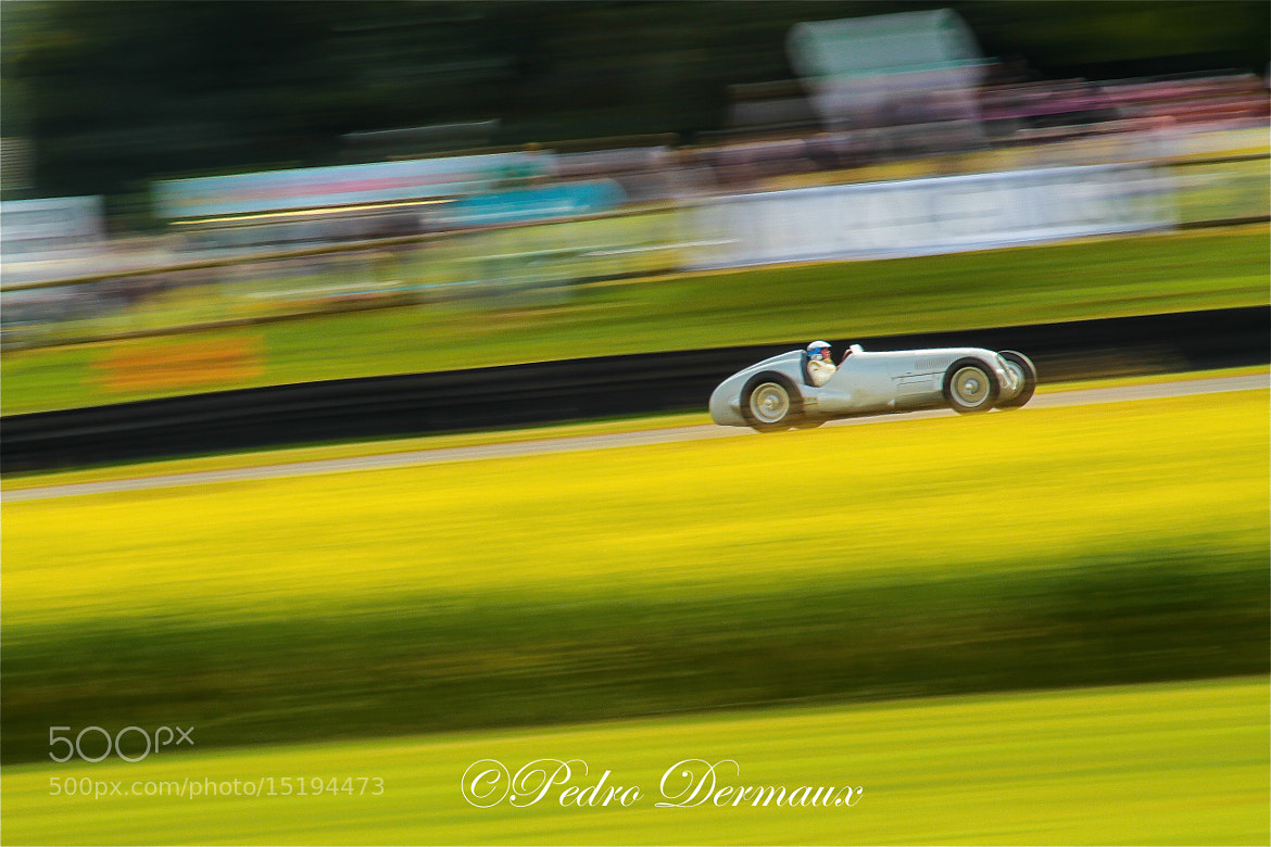 Photograph Jochen Mass in a Silver Arrow by Pedro Dermaux on 500px