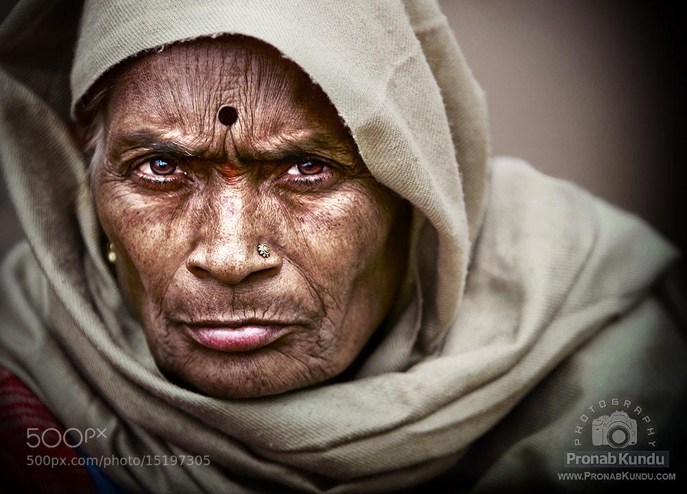 Photograph   ~ A Storytelling Face VII ~ by PRONAB KUNDU on 500px