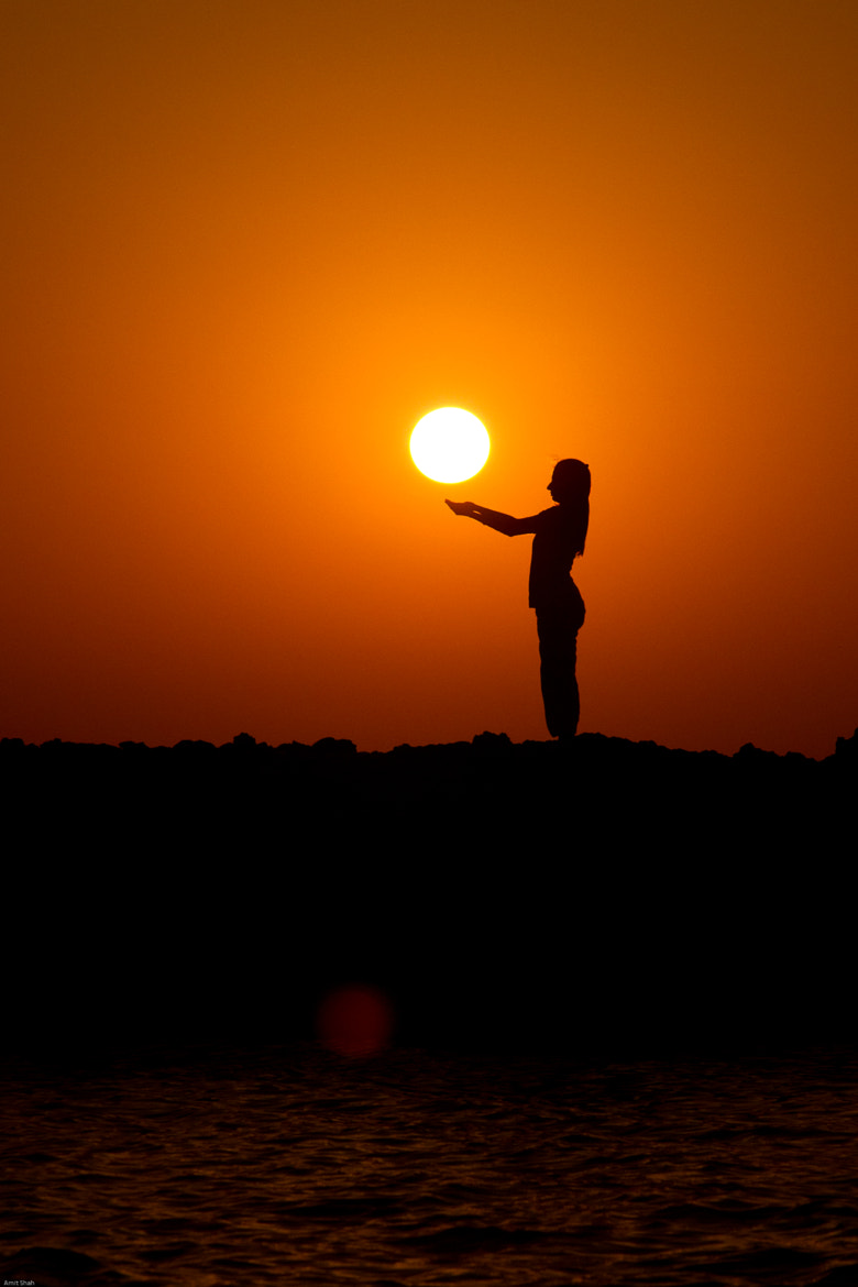 Photograph Holding the sun by Amit Shah on 500px
