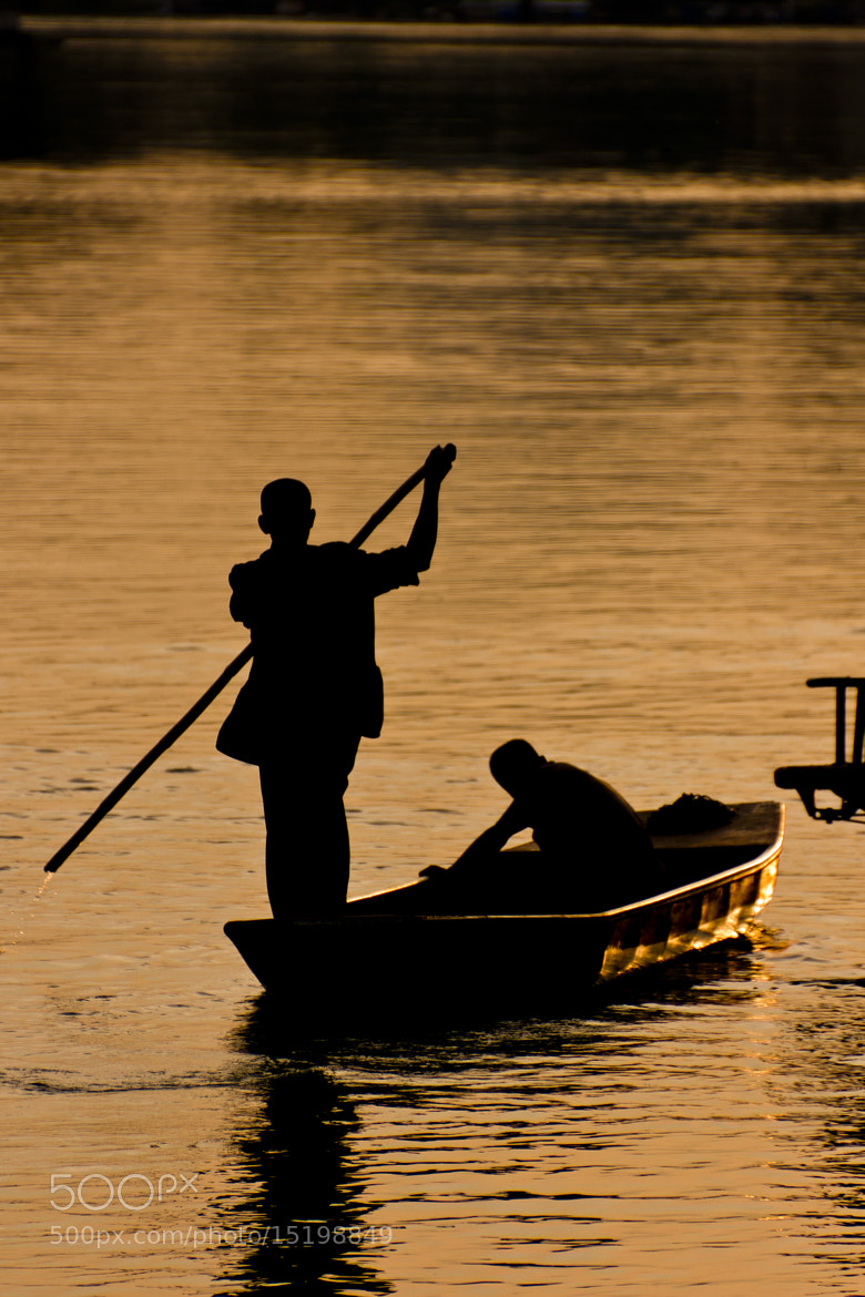 Photograph Fishing in the river Li by Raul Curto on 500px
