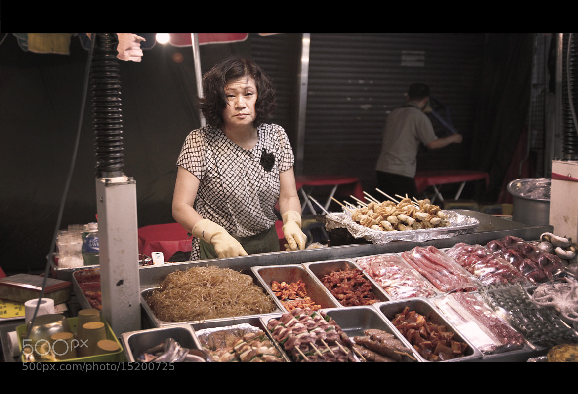 Photograph Seoul street - Meat ! by L'Oiseau Rose on 500px