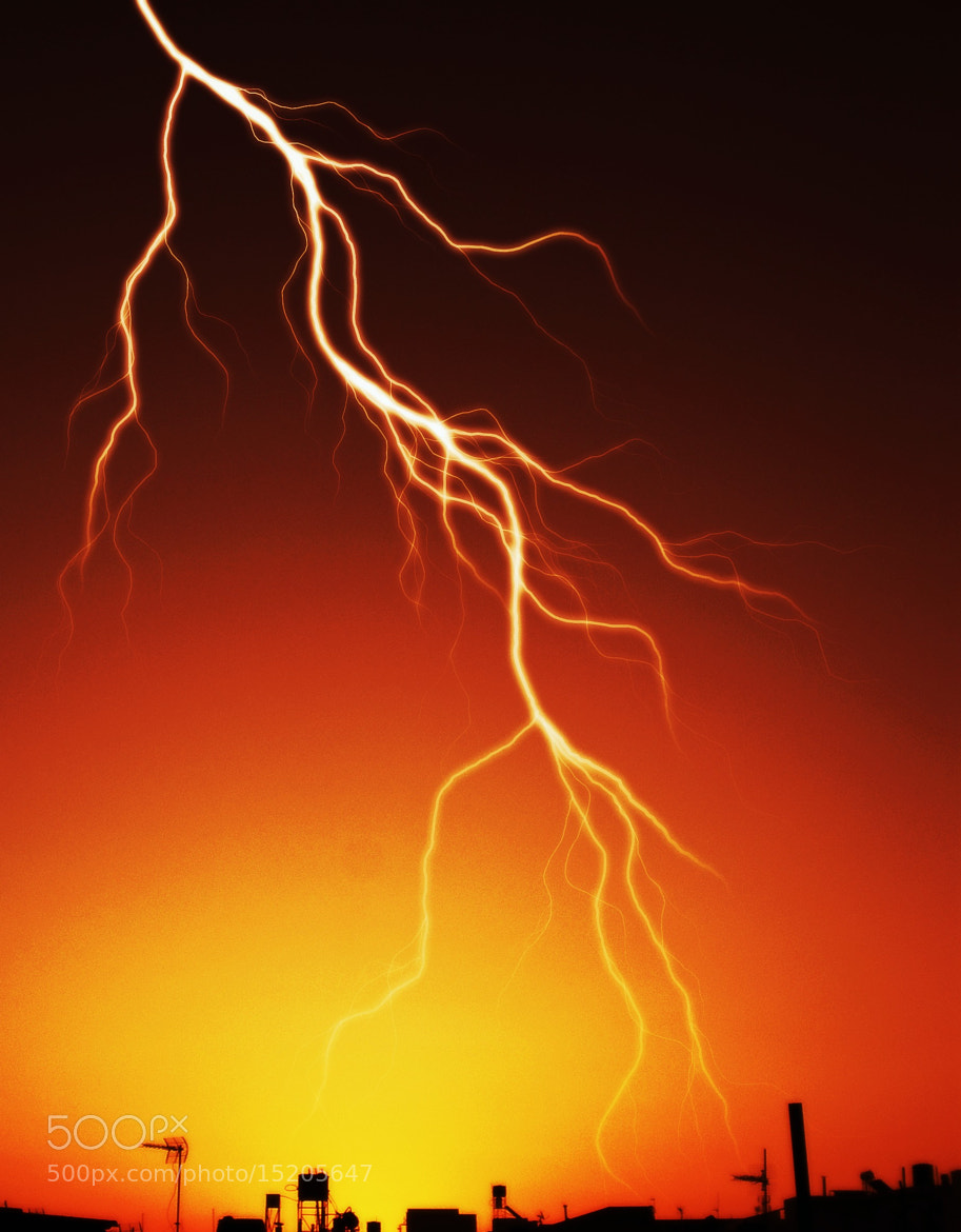 Photograph Lightning(2) by Jasmin Spiridaki on 500px