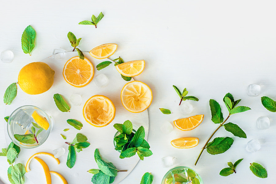 Homemade lemonade by Dina (Food Photography) on 500px.com