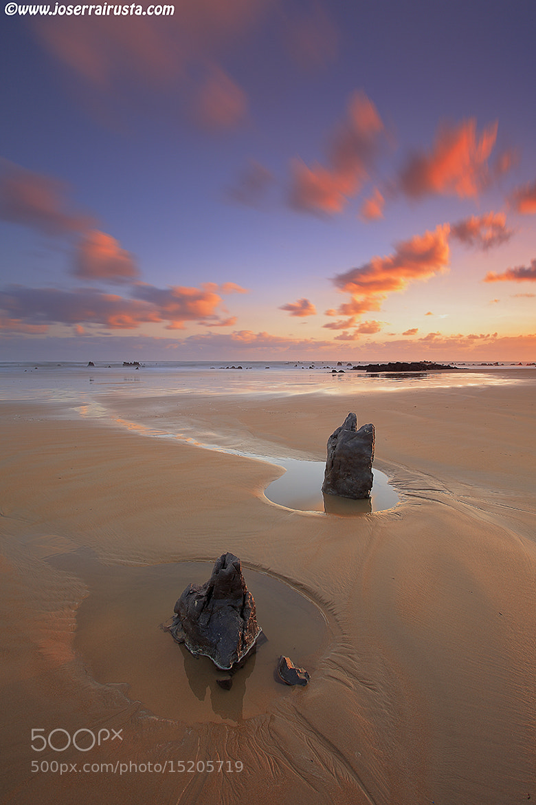 Photograph Low tide at sunrise by joserra irusta on 500px