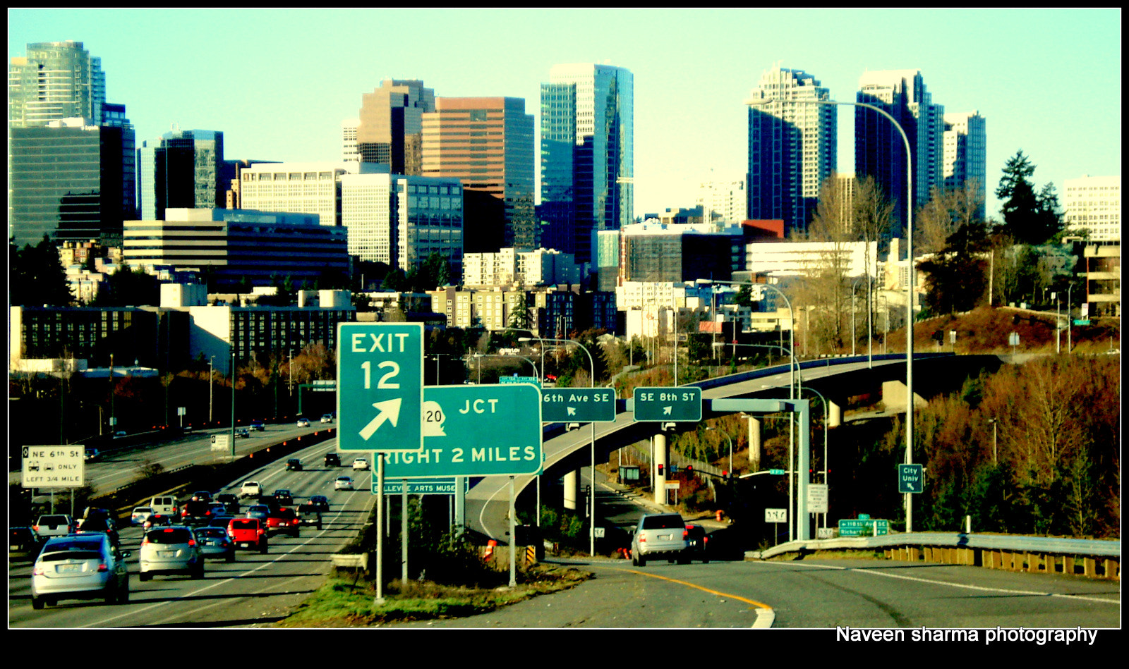 Photograph Bellevue down town ,WA by naveen sharma on 500px
