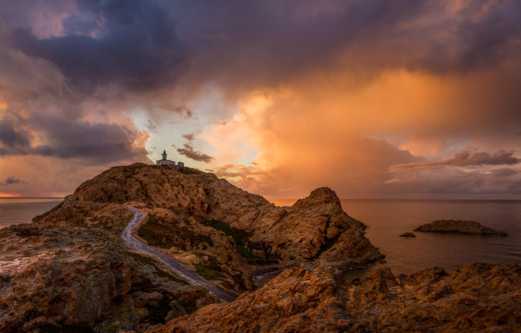 Photograph Ile Rousse Corsica by Ramelli Serge on 500px