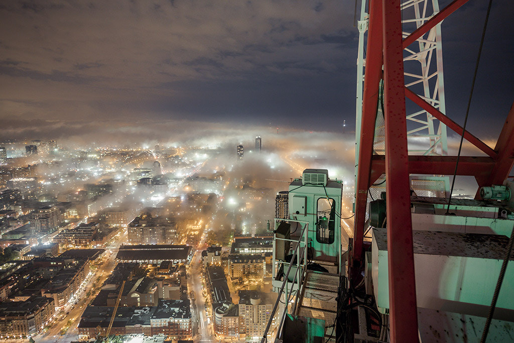 Photograph Fog town by Roof Topper on 500px