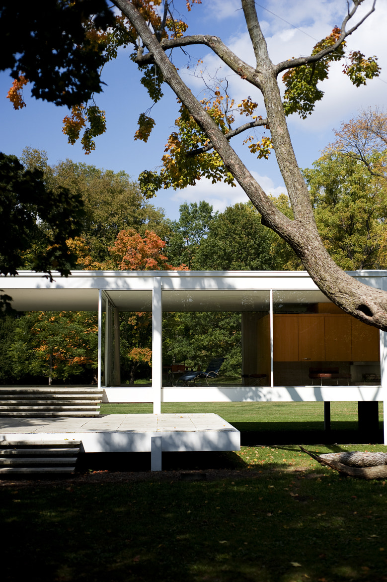 Photograph Farnsworth House by Laura de Graaff on 500px