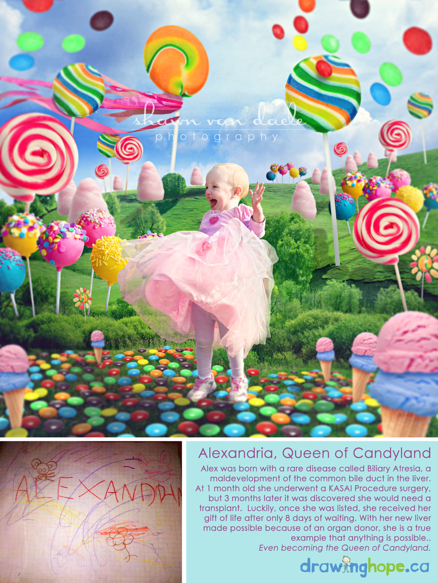 Photograph Alexandria, The Queen of Candyland by Shawn Van Daele on 500px