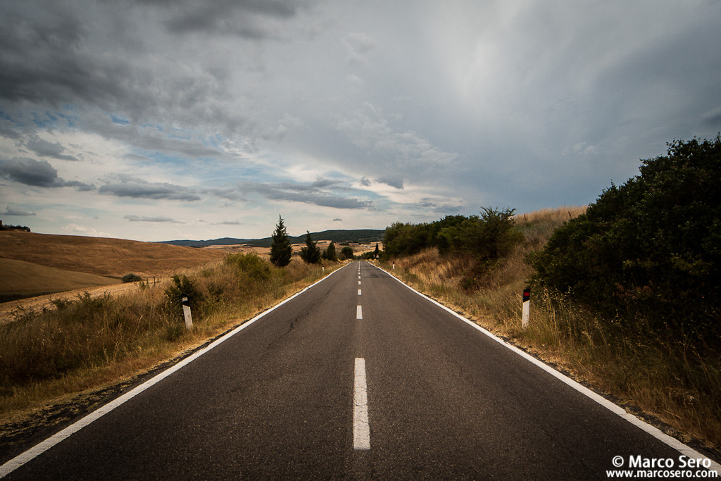 Photograph Tuscan Road by Marco Sero on 500px